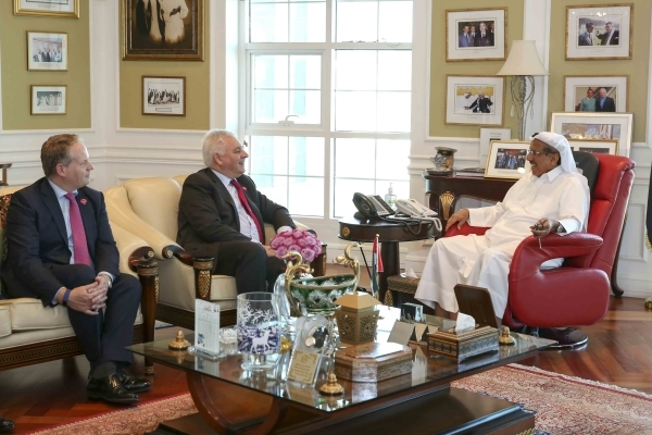Khalaf Ahmad Al Habtoor Meets Sir Nigel Knowles, the new Chairman of...