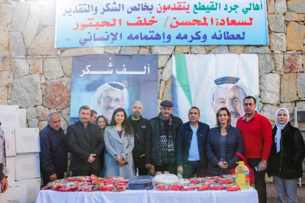 Khalaf Al Habtoor supports more than 10,000 families in 100 Lebanese...